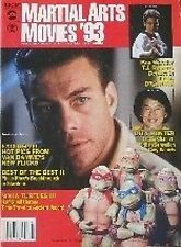 RARE 3/93 MARTIAL ARTS MOVIES JEAN CLAUDE VAN DAMME NINJA TURTLES KARATE KUNG FU
