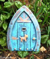 Gostatue mold Plaster,concrete dog fairy door abs plastic  mold