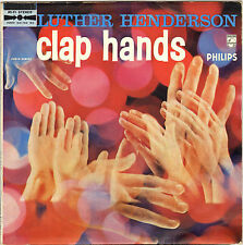 """LUTHER ANDERSON """"CLAP HANDS"""" 50'S 25 CM PHILIPS 841.102 STEREO"""