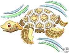 Exotic Sea Life #1 Machine Embroidery Designs 4x4 CD