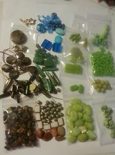 DIY Large Lot Of Mixed Assorted Beads-Findings- Jewelry Making Supplies