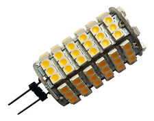 3 x G4 5.5W 120 SMD LED 3528 12V DC 720LM WARM WHITE (3000K) BULBS ~45W