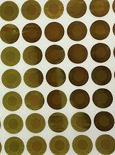 Warranty Void If Removed Gold Hologram Security Sticker Tamper Proof 8mm 100pcs