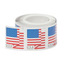 10 US Flag Forever Postage Stamps for 2018 Version