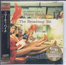 "MARTY PAICH ""The Broadway Bit"" CD, Japan, SHIM, 24 Bit w/ OBI. LIKE NEW A Pepper"