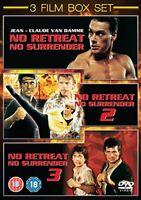 No Retreat, No Surrender 1-3 [DVD][Region 2]