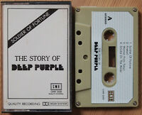 DEEP PURPLE - STORY OF (GMR 2458) RARE UNOFFICIAL CASSETTE TAPE HARD ROCK