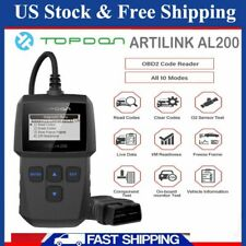 Universal TOPDON AL200 Car Code Reader Scanner Engine Diagnostic Tool OBD2 EOBD