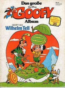 Das Große Goofy Album, Goofy als Wilhelm Tell, Walt Disney