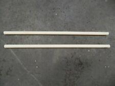 """Quadrant Engineering Acetal Plastic Rods 2 Pack 4' Long 1-1/2"""" Diam 63383400"""