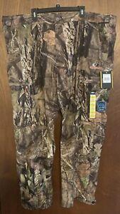 NEW Mens Mossy Oak BreakUp Country Scent Control Pants 3XL Waterproof Camo 48/50