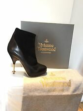 Authentic 'Vivenne westwood' Stretch Ankle Boot Heel Size 38 /UK 5 BNWB