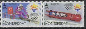 MONTSERRAT SG1216a 2001 WINTER OLYMPICS MNH