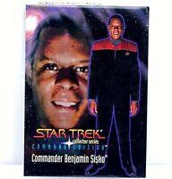1994 Star Trek Collector Series Benjamin Sisko Card Commend Edition