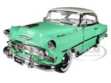 "1953 CHEVROLET BEL AIR LIGHT GREEN ""SHOWROOM FLOOR"" 1/24 DIECAST BY JADA 98884"