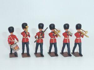 Britains Vintage Plastic Miscellaneous Band Set 6
