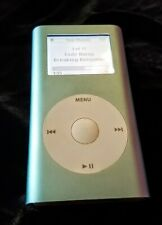 Apple iPod mini 1st Generation Blue 64GB upgraded and New Battery installed