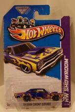 '69 Dodge Coronet Superbee 2013 Hot Wheels Showroom Blue w/Flames Heat Fleet