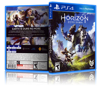 Horizon: Zero Dawn - Replacement PS4 Cover and Case. NO GAME!!