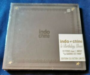 Indochine Le Birthday Album 1981-1991 édition collector limitée neuf sous cello