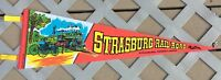 Strasbourg Rail Road Strasbourg Pennsylvania Felt Pennant Wall Hanging