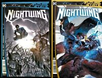 DC Future State Nightwing #1 #2 Comic Set Covers A Batman Yasmine Putri NM