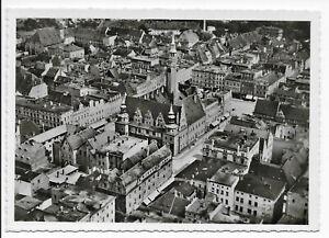Ansichtskarte Brieg, Brzeg, Ring, Luftbild