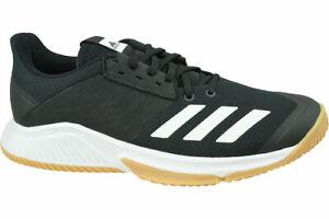 New! Adidas Crazyflight Team D97701 volleyball Tennis shoes Black White Womens 8