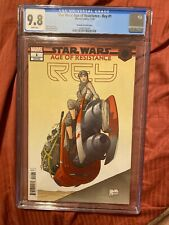 CGC 9.8 Star Wars Age of Resistance Rey #1 Joe Quesada Variant 1:50 ULTRA RARE