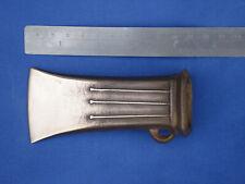 Bronze Age axe. Salisbury/Llyn Fawr,  square socket bronze axe. Reproduction
