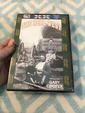 The Real West Dvd Documentary. Narrated By Gary Cooper •New•