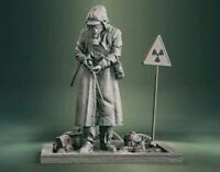 Chernobyl Liquidator Military Custom Resin Model Kit GK Figure Statue 1/16