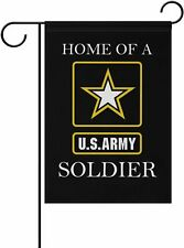 Double Sided Banner Soldier House Flag Armed Forces Rangers American Military