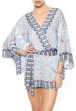 BCBG Printed Kimono Romper Size M
