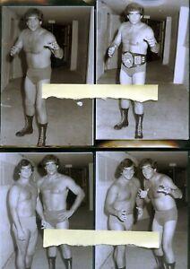 Jack Brisco    4x6 Wrestling Photo Lot of 4  SALE !!