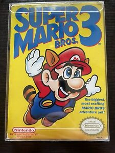 Super Mario Bros. 3 (Nintendo Entertainment System, 1990) authentic complete cib