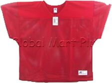 Football Practice Jersey Cropped Over Pads V Neck Mesh Mens Russell Athletic 412ee4f8b