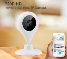 Wireless WIFI HD 720P Camera ONVIF Outdoor Security Pan Tilt Night Vision EU UP