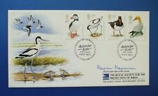 1989 SEABIRDS OFFICIAL COVERCRAFT FDC SIGNED BY MAGNUS MAGNUSSON [ MASTERMIND ]