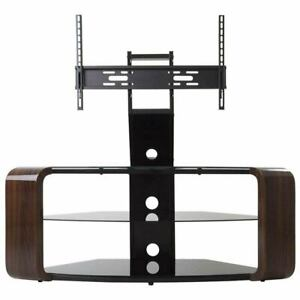 "AVF Como Combi TV Stand unit traditional for TVs home furniture up to 65"" Walnut"