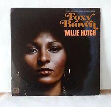 FOXY BROWN Willie Hutch (1974) MOTOWN STEREO LP, OST original soundtrack, rare.