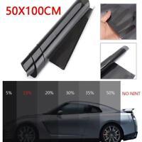 50x100cm 35% VLT Black Car Home Office Glass Window Tint Tinting Film Roll