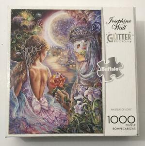 Josephine Wall Masque of Love Glitter Edition 1000 Piece Jigsaw Puzzle Buffalo