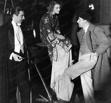 8x10 Print Bela Lugosi Dracula Set Candid 1931 #BLD