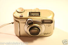 Vivitar ViviCam 3745 3.3MP Digital Camera - Silver