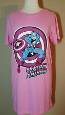 Womens Plus Size 2X Captain America Nightgown Sleep Shirt Pajamas Marvel 22 NWT