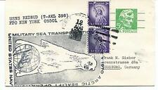 USNS Redbud T-AKL 398 Military Sea Transportation Service Polar Antarctic Cover
