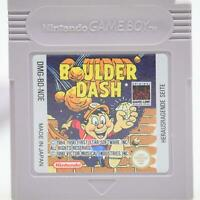 Boulder Dash | Nintendo Game Boy Spiel | GameBoy Classic Modul | Gut