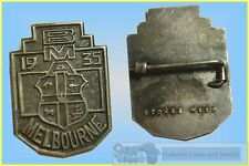 1935 'B.M.A.' Melbourne Silver? Badge