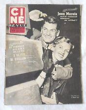 CINE-REVUE 13 juin 1952 JEAN MARAIS SIMONE PARIS JEAN MARAIS Olivia DE HAVILLAND